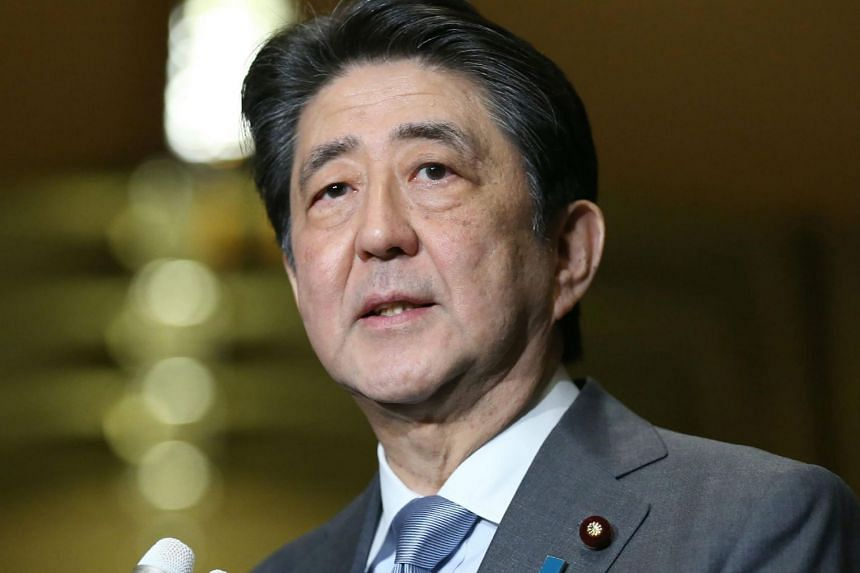 Japanese Prime Minister Shinzo Abe told a parliamentary session Thursday (March 14) it is a matter of course to follow ruling Liberal Democratic Party rules that prohibit serving a fourth-consecutive term as leader.