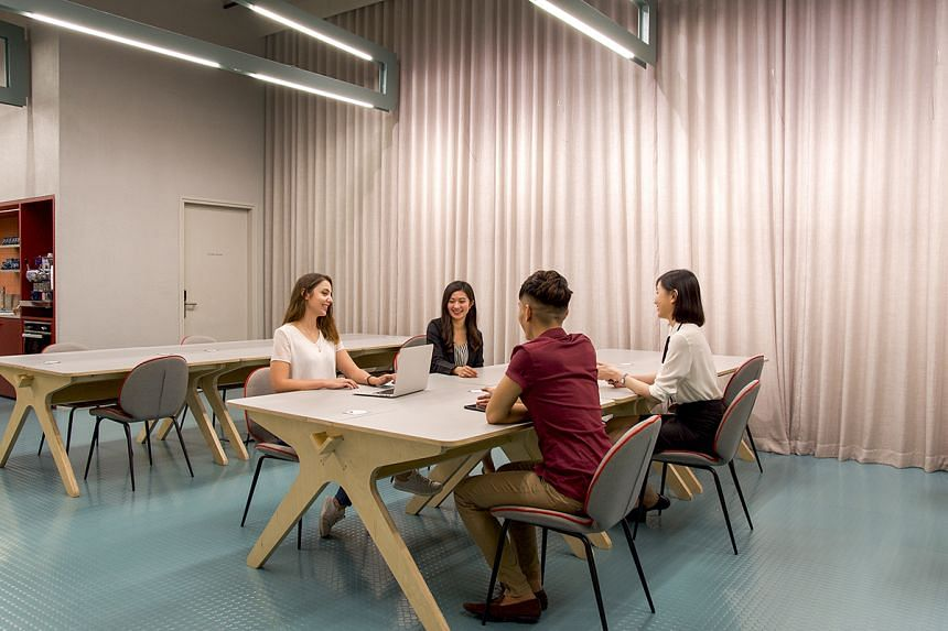 Spaces premises boast modern decor and meeting rooms perfect for team gatherings. PHOTO: SPACES