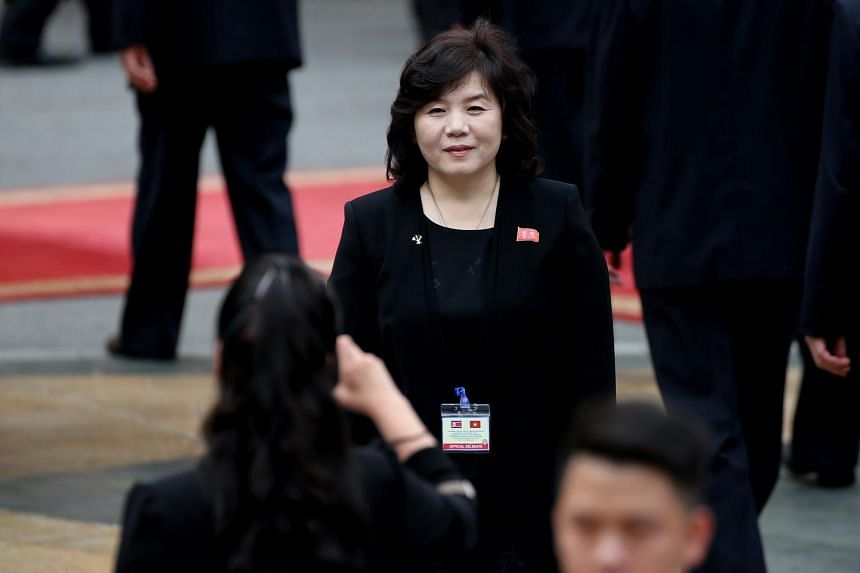 North Korean Vice-Minister of Foreign Affairs Choe Son Hui said North Korea has no intention to yield to US demands or engage in negotiations of this kind.