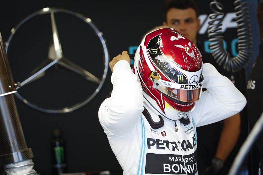 British Formula One driver Lewis Hamilton of Mercedes AMG GP prepares for the first practice session ahead of the 2019 Formula One Grand Prix of Australia on March 15, 2019.