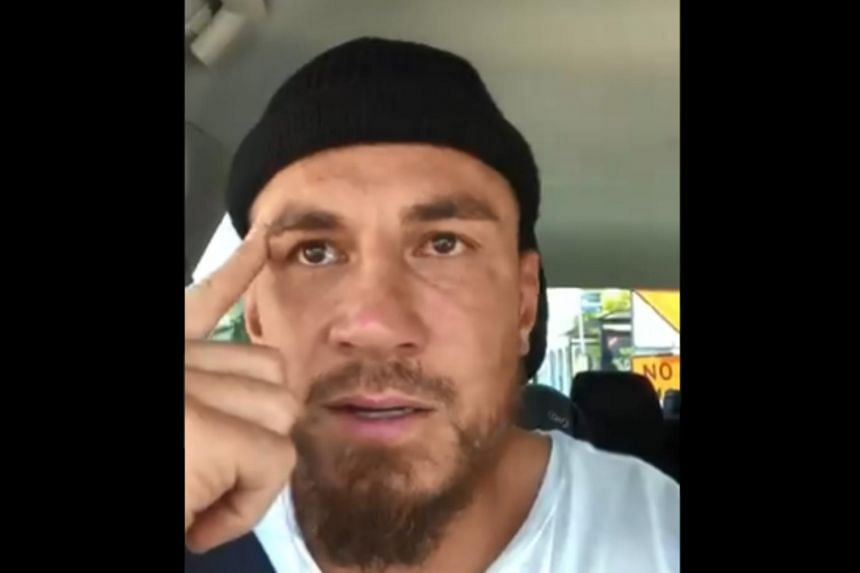 """""""Insyallah (God willing) everyone who's been killed today... you guys are all in paradise,"""" said rugby star Sonny Bill Williams."""