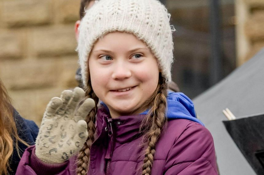 Greta Thunberg, 16, has struck a chord with younger people disillusioned by the slow progress of the adult world in halting climate change.