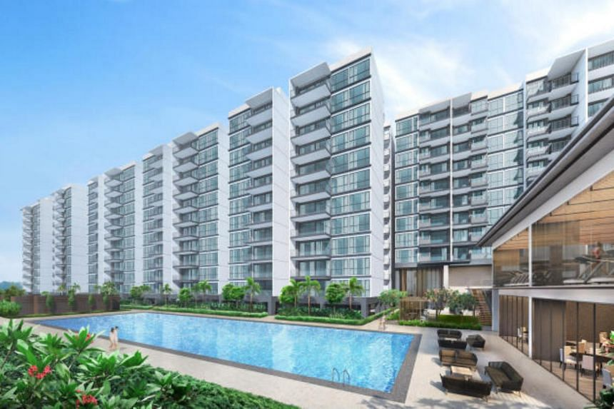 The condo, Treasure At Tampines, stands on the site of the former Tampines Court HUDC estate, is expected to be among a handful of mega projects that are slated to be launched this year.