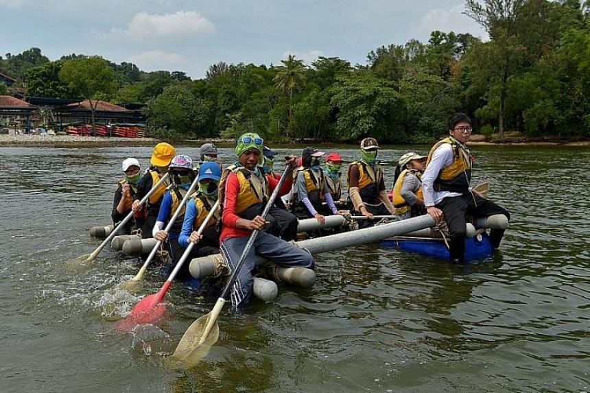 Adventure school Outward Bound Singapore said the safety of participants is its priority.