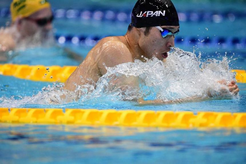 Olympic swim champion Kosuke Hagino shot to fame by scooping four gold medals at the 2014 Asian Games.