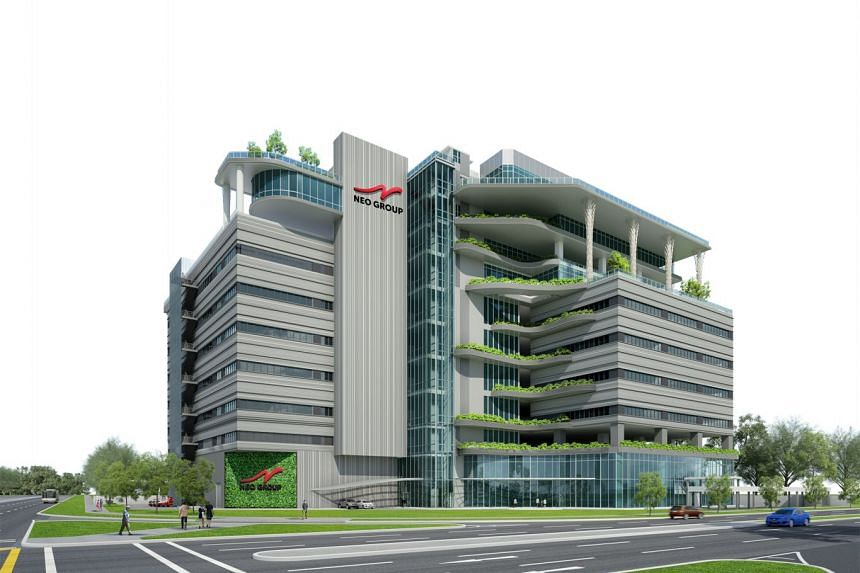 An artist's impression of Neo Group's new headquarters and catering hub in Quality Road.