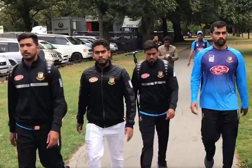 Members of the Bangladeshi cricket team escaped from the mosque near Hagley Park where there were active shooters.