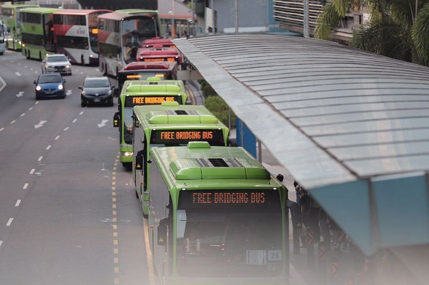 Free regular bus services and free bus bridging services in both directions are available between Jurong and Queenstown stations.