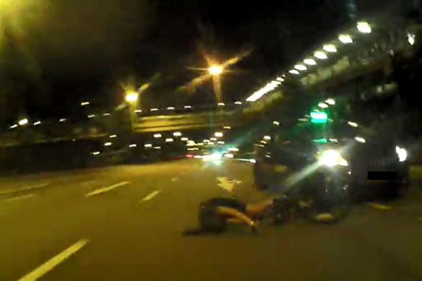 A taxi hit Dr Lynette Ngo from behind, shattering half her helmet and leaving her with devastating injuries.