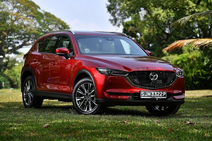 The Mazda CX-5 is stable around bends and provides a smooth ride.