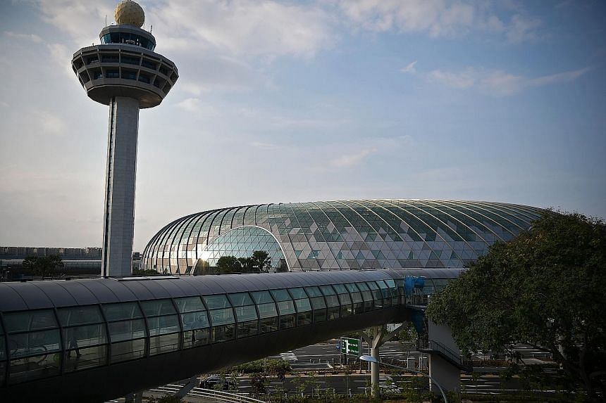 The Jewel Changi Airport preview tickets, which were given out for free, were being offered for sale by at least eight sellers on Carousell. It is stated on the registration site that the tickets are not for resale.
