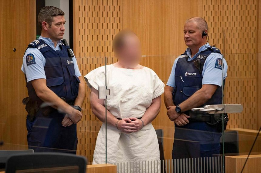 Brenton Tarrant was charged with murder in the Christchurch District Court, on March 16, 2019.