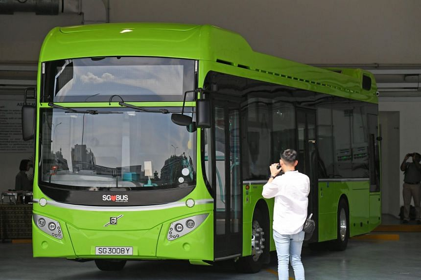 The first of the hybrid buses were deployed in December 2018, while the electric buses will arrive and be put into service next year.