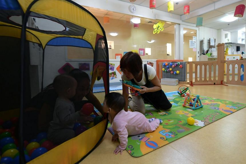 What are the pros and cons of night-time childcare from the standpoint of a child's learning and developmental outcomes?