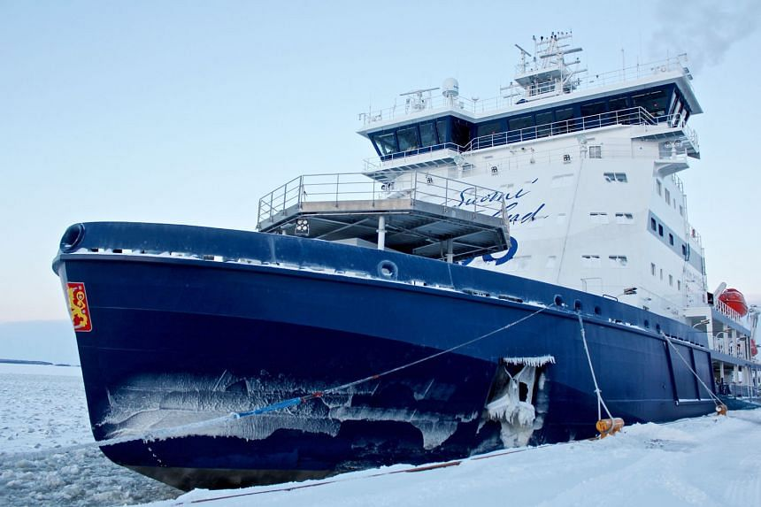 The Baltic icebreaker Polaris is the first icebreaker to run on natural gas, which is less polluting than the usual diesel fuel. The maritime industry is adopting more environmentally friendly measures.