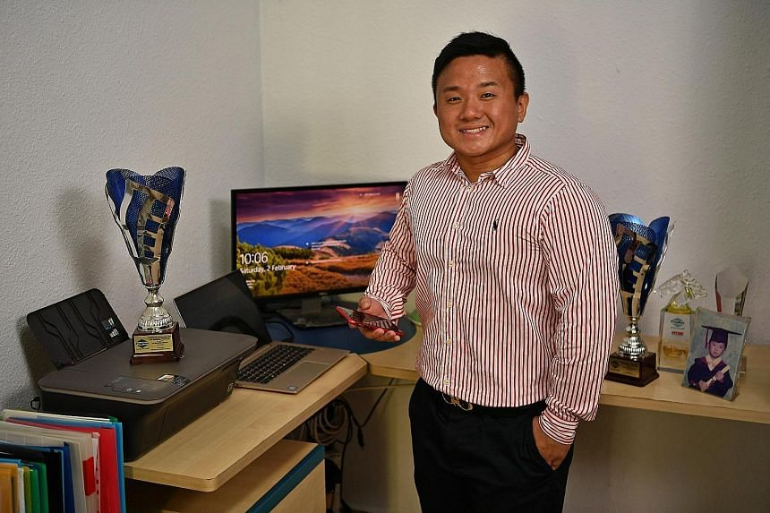 Mr Lim's life experiences taught him that making money is not easy, and this realisation led him to invest $1,252 of his hard-earned savings in a real estate salesman course with Real Centre Network in 2011.