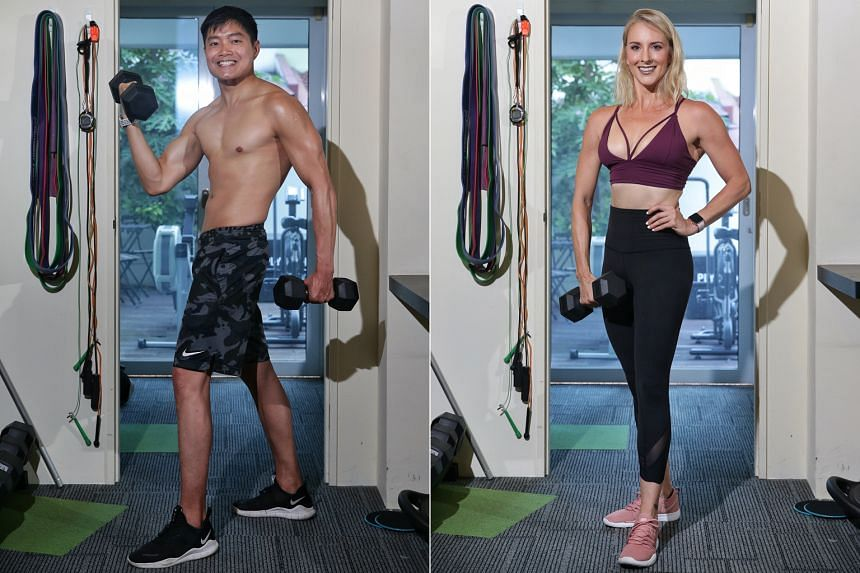 Tyler Lim (left) and Amanda Dale (right).