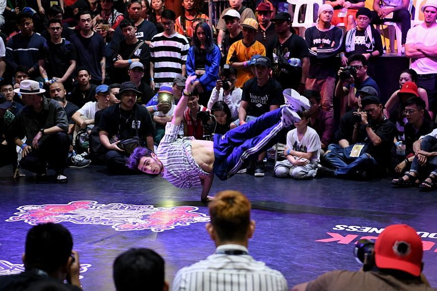 The Radikal Forze Jam breakdance competition, which ends today at *Scape, attracted 10,500 dancers, including 60 from overseas.