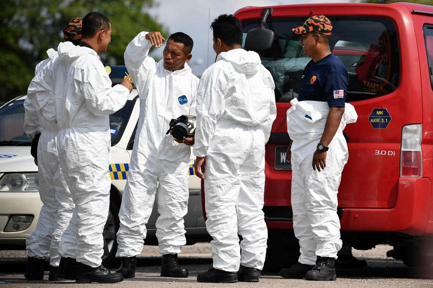 The Fire and Rescue Department Johor department director Yahaya Madis said that while most of these gases were harmless, some - such as hydrogen cyanide - could be harmful if found in high concentration or if a person was exposed to it for too long.