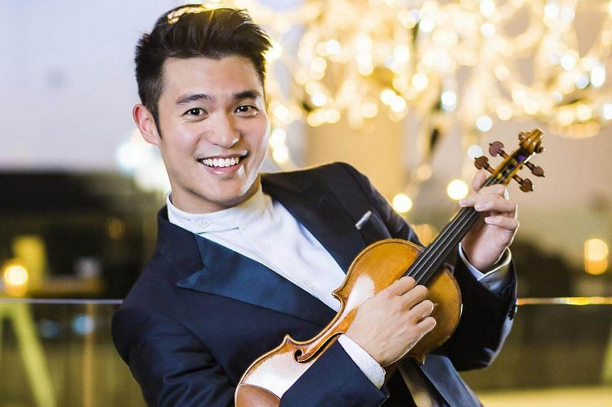Taiwanese-Australian violinist Ray Chen opened the programme with Alexander Borodin's Overture to Prince Igor and the playing was robust and fluent.