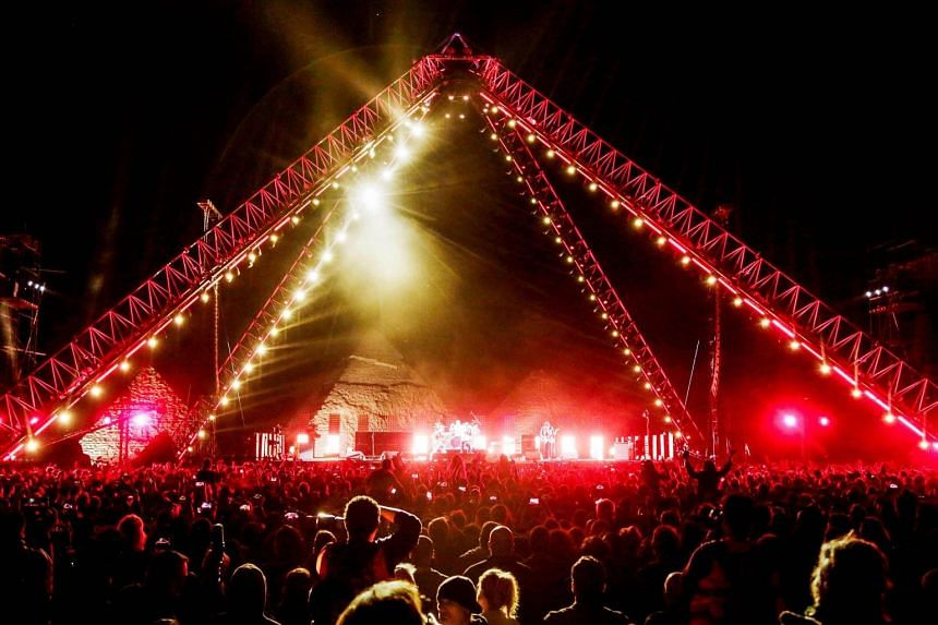 The Red Hot Chili Peppers concert is the first international gig to be held at the great pyramids of Giza since pianist Yanni in 2015.