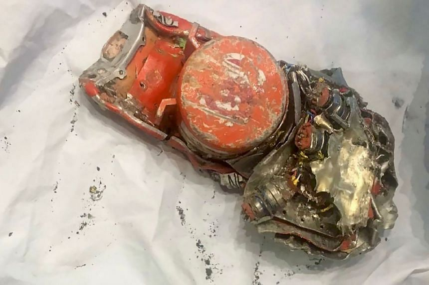One of the two black box recorders of the Ethiopian Airlines 737 Max which crashed minutes after taking off from Addis Ababa airport on March 10, 2019.
