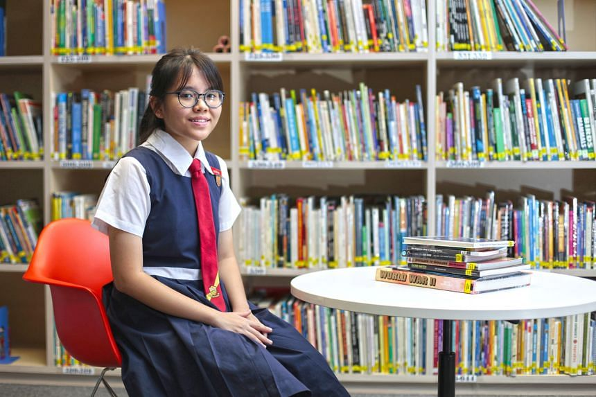 Normal (Academic) student Low Jie Ying consistently scores As in Maths at Express level, but declined her school's offer to transfer to the Express stream. She welcomes subject-based banding as it will allow students to grow and be developed in the s