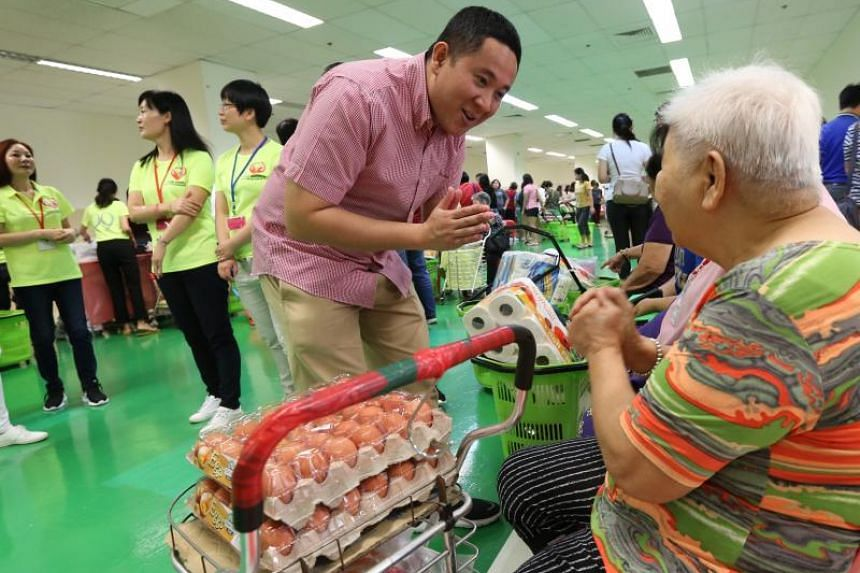 Senior Parliamentary Secretary for Health and for Home Affairs Amrin Amin said the pilot programme gives residents a chance to try out healthier ingredients.
