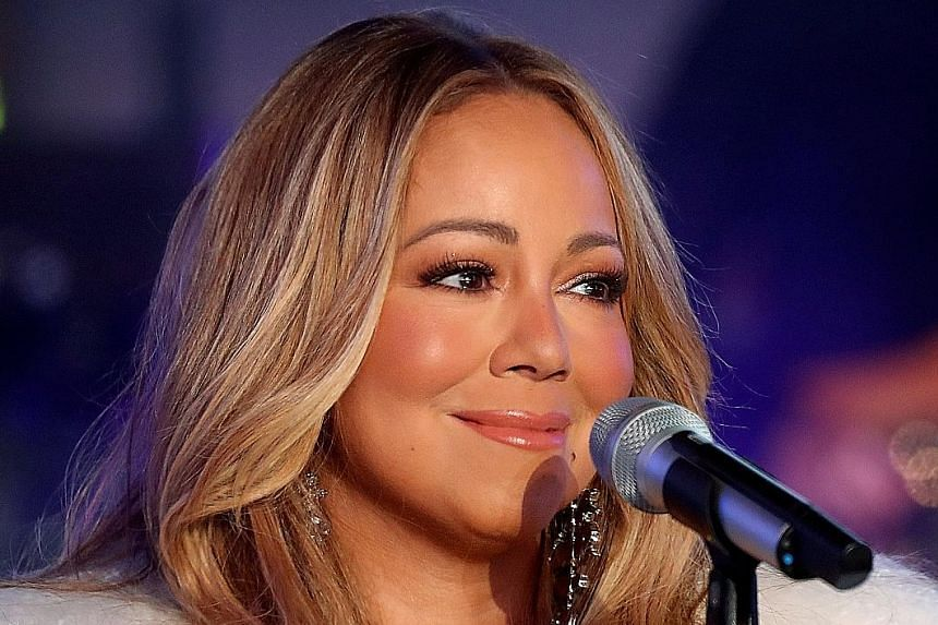 The Las Vegas residency roster includes singers Mariah Carey (above), Lady Gaga, Cardi B and Janet Jackson.