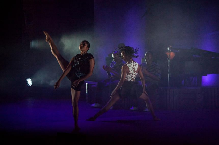 Adelene Stanley (left), an original cast member, will be working with an all-new cast of dancers and singers for the Singapore shows and Inala's West End debut at the Peacock Theatre this April.
