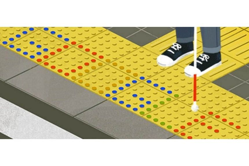 The latest Google Doodle features an eye-catching animation in honour of Japanese inventor Seiichi Miyake, who came up with the idea of tactile paving in Japan in 1965.