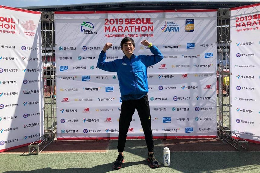 Soh Rui Yong now holds the national records in the marathon, the half marathon and the 10,000m.