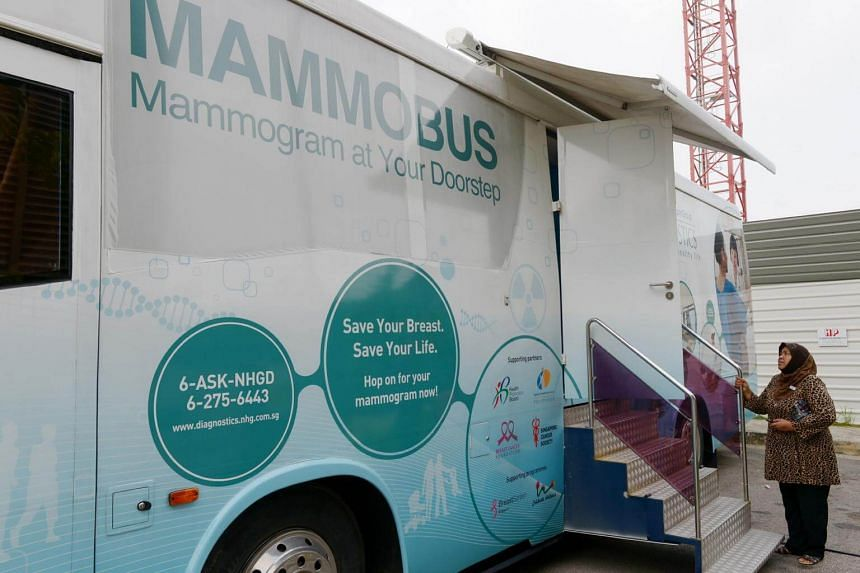 The National Healthcare Group Diagnostics said that from January last year to February this year, the bus was deployed 167 times.