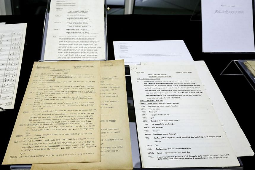 Radio play scripts and short stories were among the collection of items donated.