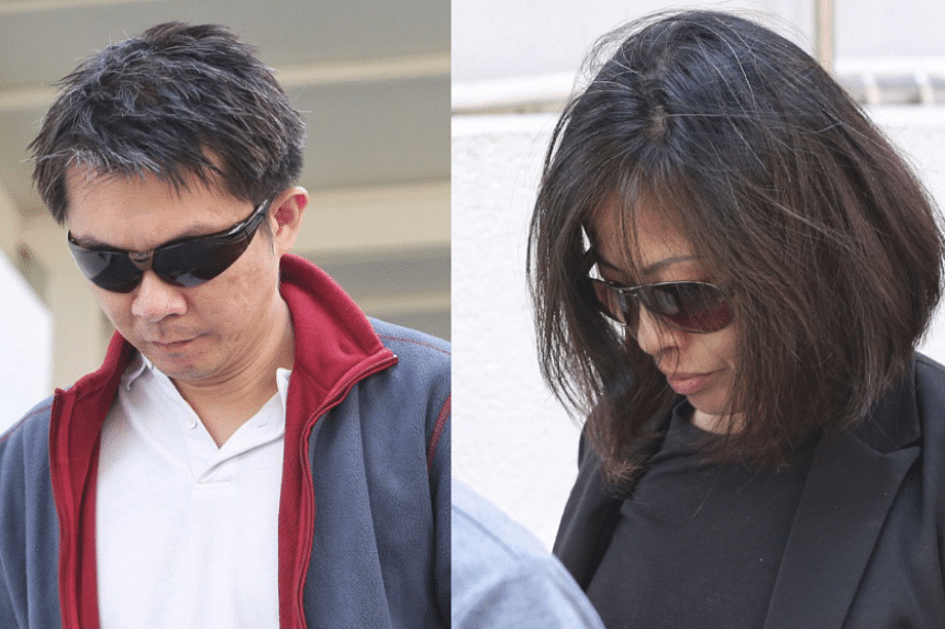 Tay Wee Kiat (left) and his wife Chia Yun Ling were convicted of maid abuse after a 31-day trial.