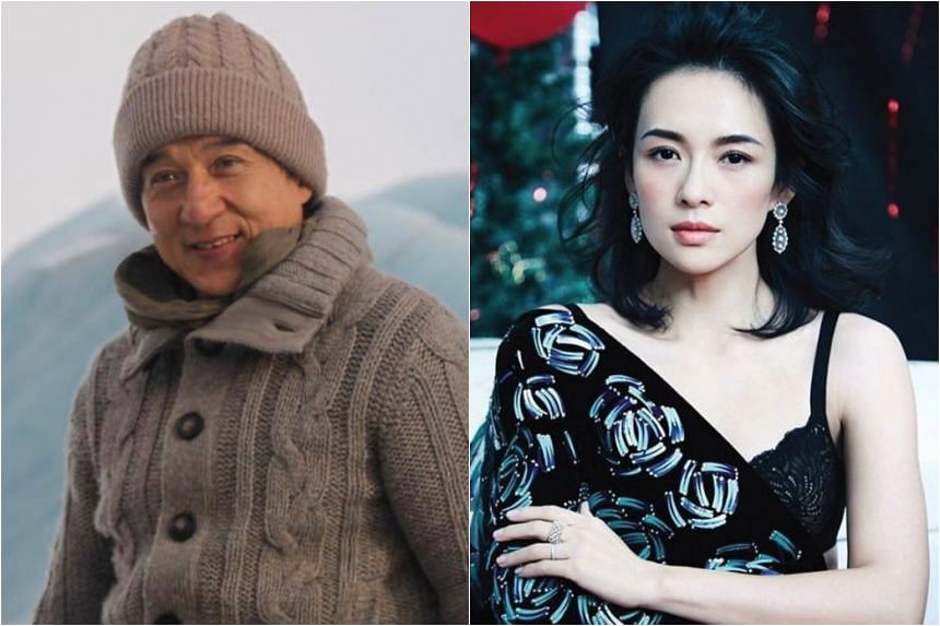 Jackie Chan (left) and Zhang Ziyi are being roped in for the film, based on the true-life account of how a Chinese trio became the first in the world to climb Mount Everest's North Ridge in 1960.