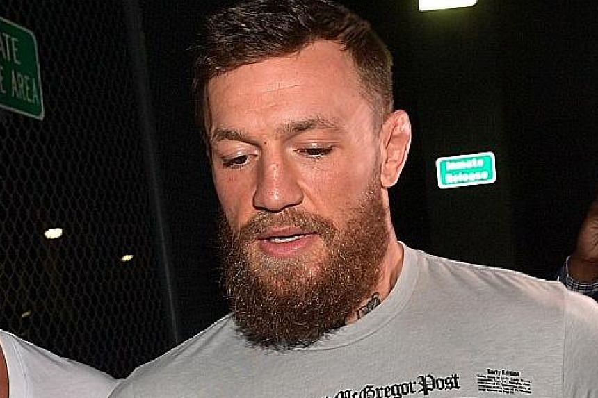 Actor Sylvester Stallone, a UFC minority owner, wants a rematch between Conor McGregor (left) and Khabib Nurmagomedov.