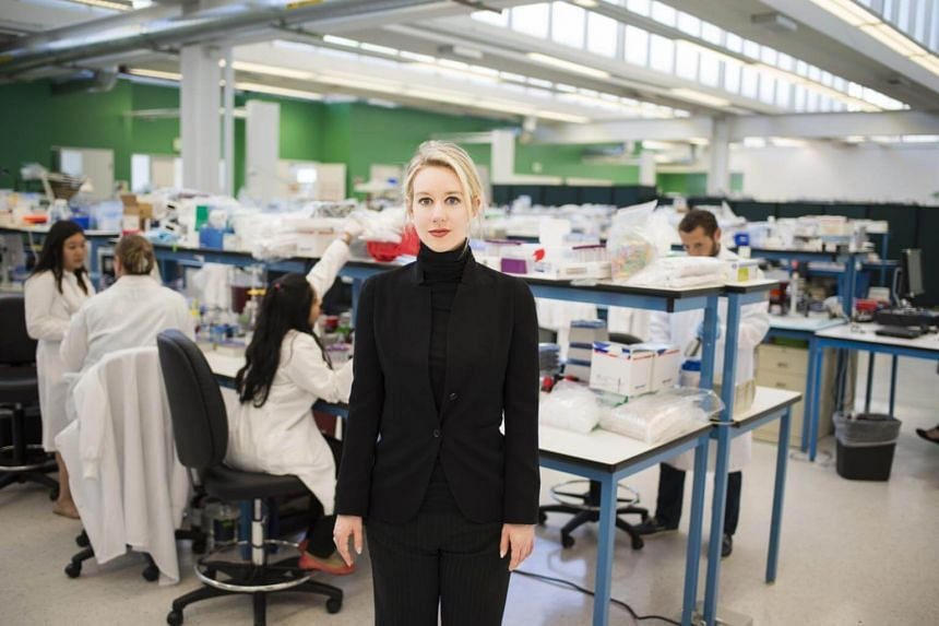 Elizabeth Holmes in the documentary The Inventor: Out For Blood In Silicon Valley.