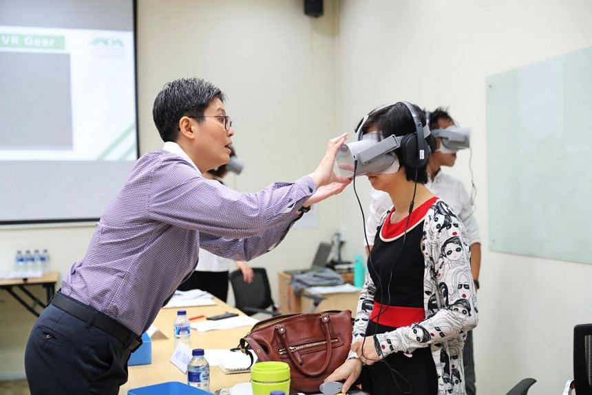 The VR application was developed by Dementia Australia in 2016 and was the first to use game technology to create the virtual reality world of a person with dementia.