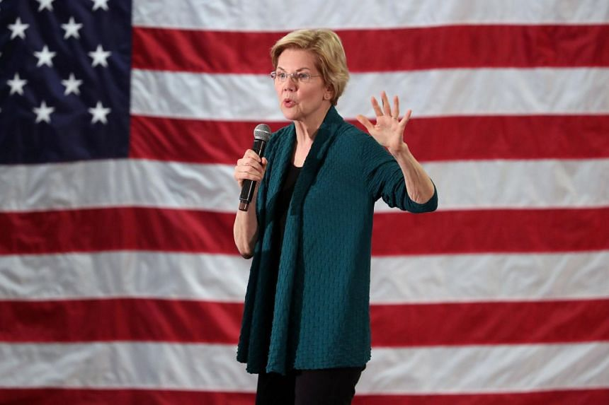 It was the first time Ms Elizabeth Warren has explicitly called to eliminate the system established by the US constitution.