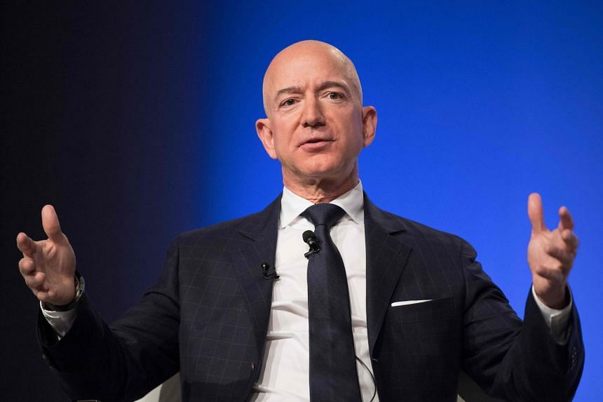 In February, Mr Jeff Bezos accused the National Enquirer's publisher American Media Inc of trying to blackmail him over lurid photos.