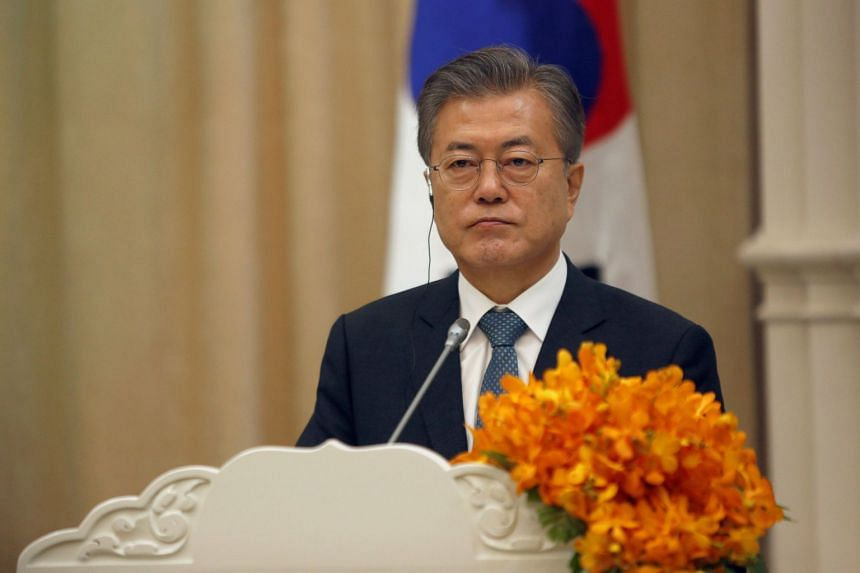 """South Korean President Moon Jae-in said the scandal includes """"strong allegations of consent, backing and favours"""" for clubs by police and tax officials."""