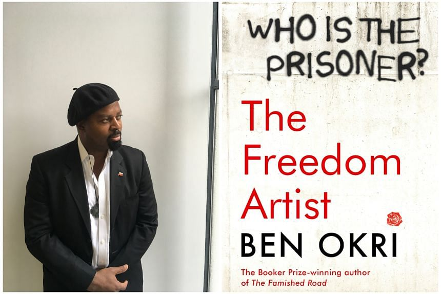 In The Freedom Artist (right), writer Ben Okri (left) tells the story of a dystopian society wrapped in layers of myth, magic and political allegory.