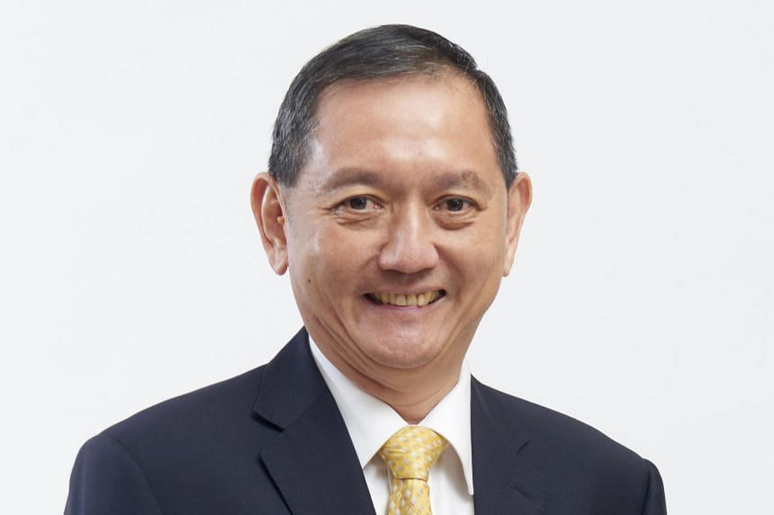 Mr Lee Chuan Seng (top), who was the founding president of the Singapore Green Building Council, will replace Mr Liak Teng Lit (above), who has helmed the National Environment Agency's board for the past four years.