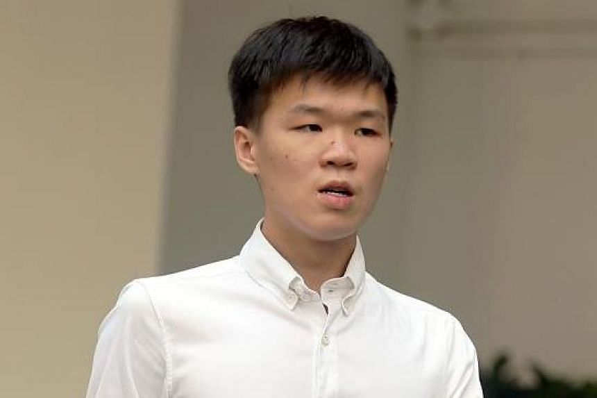 Joven Heng Gin How pleaded guilty on March 19, 2019, to injuring Mr Chua Kok Soon by riding the power-assisted bicycle in a rash manner on June 9 last year.