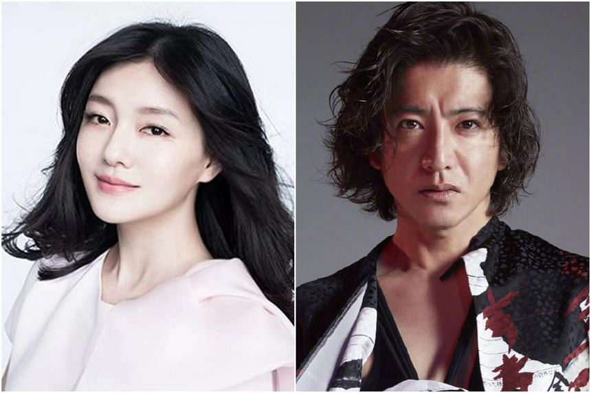 Taiwanese actress Barbie Hsu (left) disclosed in a recent interview with the Chinese edition of Cosmopolitan magazine that Japanese heartthrob Takuya Kimura has been her idol since she was 14 years old.