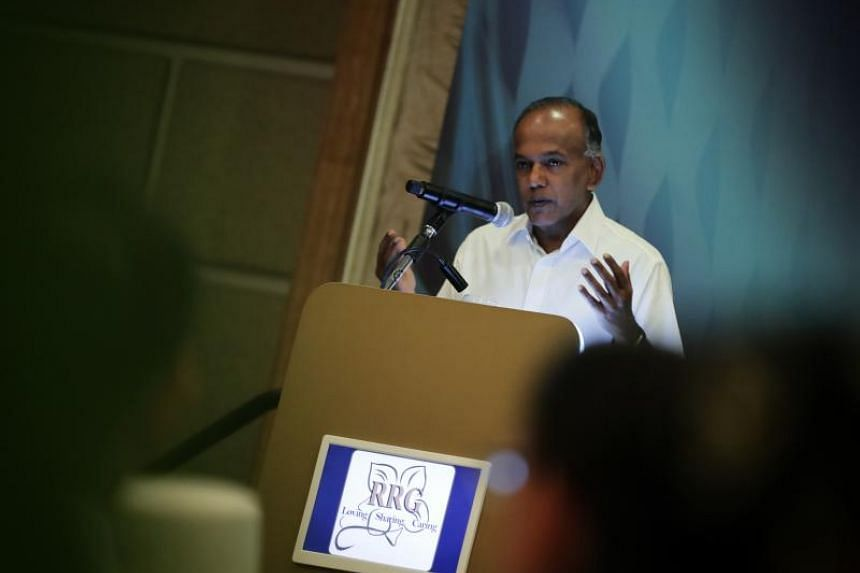 Home Affairs and Law Minister K. Shanmugam said he will be tabling a motion in Parliament to discuss hate speech and race and religious relations sometime in early April.