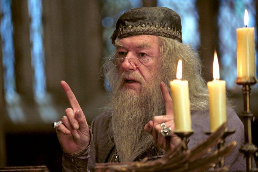 Michael Gambon as Albus Dumbledore in Harry Potter And The Prisoner Of Azkaban.