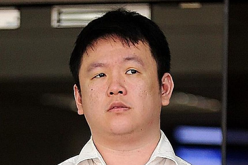 """Timothy Tan Swee Thiam yesterday admitted to forging the signature of his """"godsister""""."""