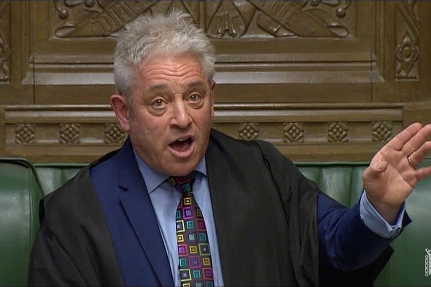 Mr John Bercow's ruling paves the way for a series of other options that had been swept off the table last week.